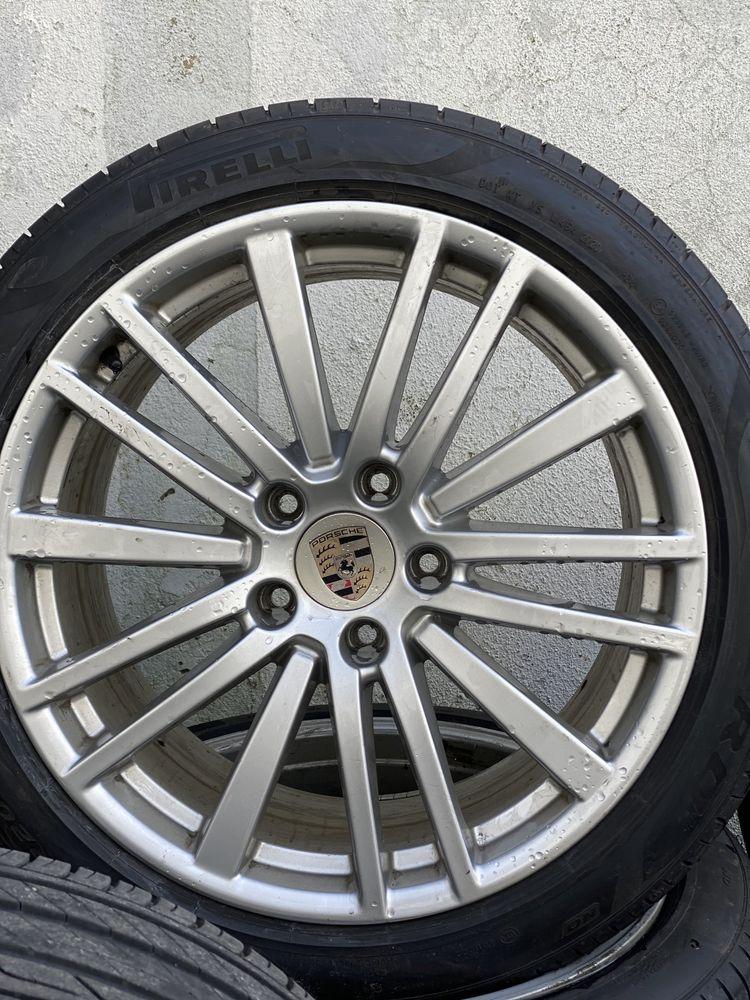 """Jantes e pneus 20"""" porsche panamera novo modelo 5x130"""
