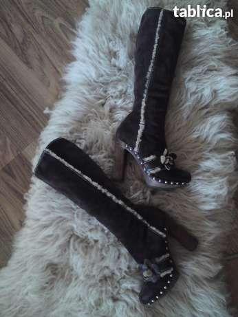Kozaki Dolce Gabbana