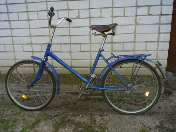 велосипед салют на ходу