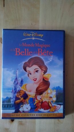 """DVD """"Le Monde Magique de la Belle et la Bête"""" (novo)"""