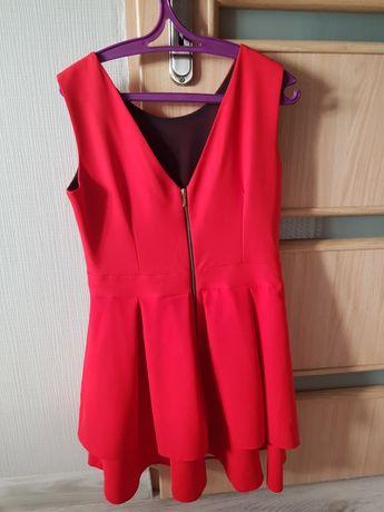 Sukienka czerwona na wesele M