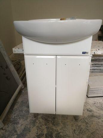 Szafka łazienkowa biała 45cm