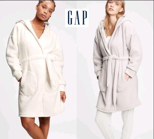 Мягенькие, плюшевый, очень тёплые халаты GAP
