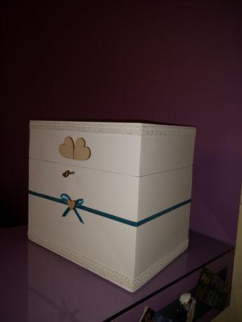 Skrzynka na koperty / Skrzynka ślubna / Pudełko na koperty