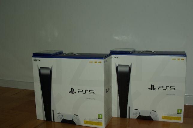 Konsola SONY PlayStation 5 PS5 z napędem (dyskiem) + Gra