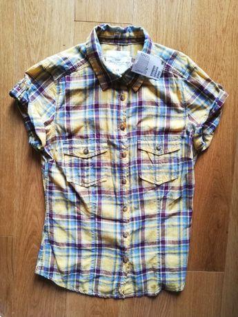 Koszula, koszulka, bluzka damska z krótkim rękawem H&M 36