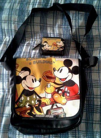 DISNEY : Mickey mouse_ mala e carteira