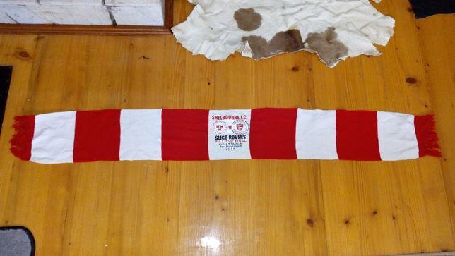 Szalik Szal sportowy kolekcjonerski Sligo Rovers F.C. Shelbourne FC