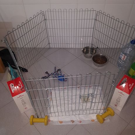 Cerca grade gaiola para animais