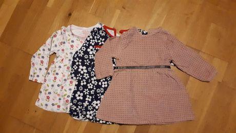 Sukienki rozmiar 62-68