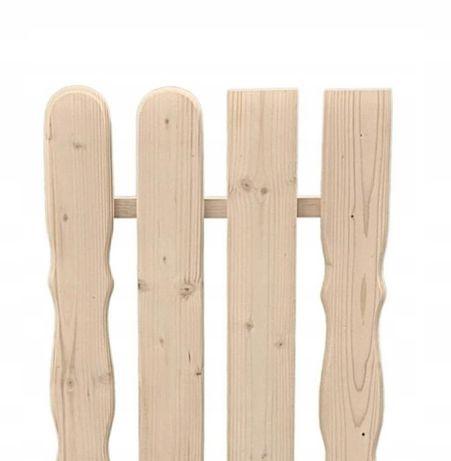 Sztachety drewniane PRODUCENT suche