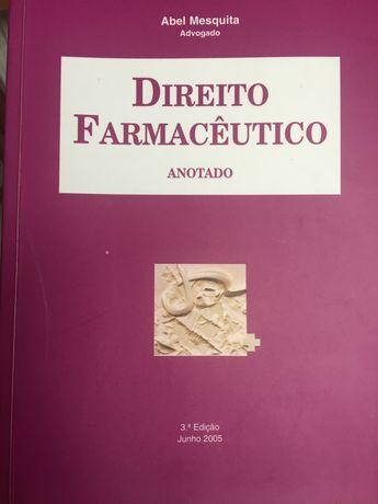 """Livro """"Direito Farmacêutico"""""""