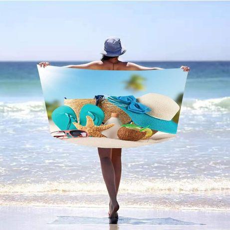 Ręcznik mikrofibra dla Pani 100cmx180, idealny na plaże, wakacje