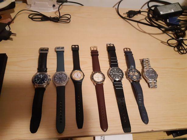Conjunto, coleção de relógios de várias marcas