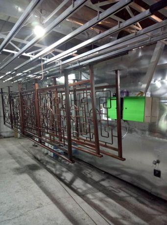 Порошковая покраска металлоконструкций/ дробеструйная обработка