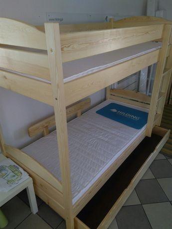 Łóżko piętrowe 90x200 na dowolny wymiar i kolor
