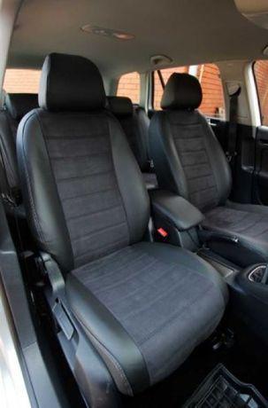 Авто Чехли Renault Megane 3 Grand Scenic 3 еко шкіра Алькантара Кожа