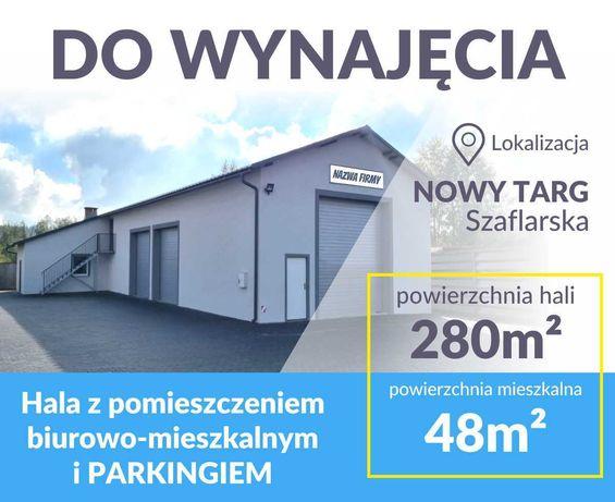Do Wynajęcia Hala Usługowo-Handlowa+ PARKING 280m2**VAT23%