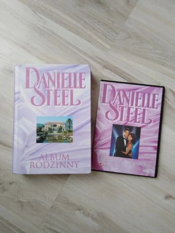 Danielle steel książka i płyta DVD album rodzinny