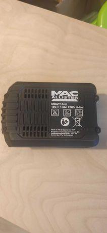 Bateria Akumulator MacAllister MBAT18-LI 18V 1,5Ah