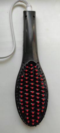 Утюжок выпрямитель расческа для волос
