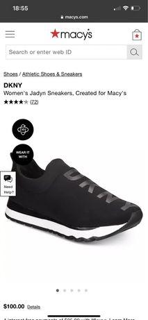 Новые кроссовки DKNY