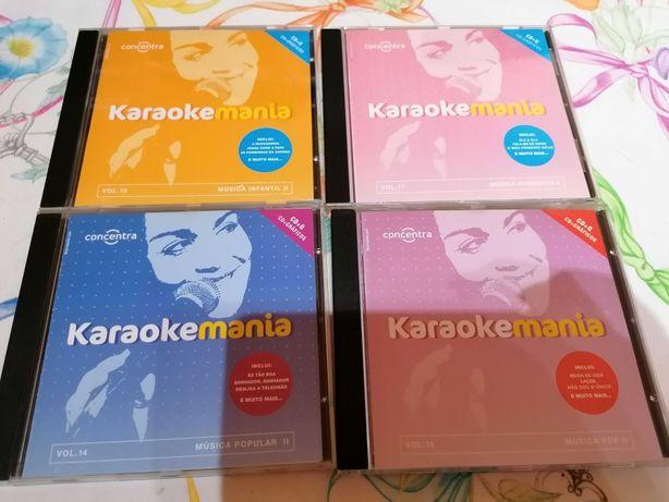 BAIXA DE PREÇO, CDS de karaok em muito bom estado