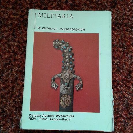 Militaria w Zbiorach Jasnogórskich kolekcja 9 pocztówek