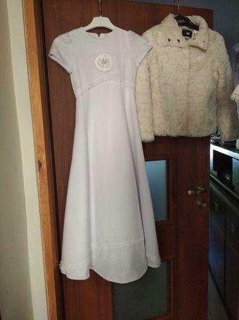 Sukienka komunijna 134-140