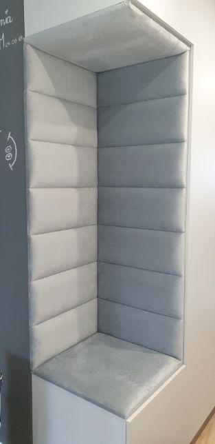 panel panele tapicerowane ścianki garderoby sypialnie na wymiar