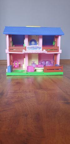 Domek dla lalek Play house z wyposażeniem