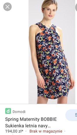 Sukienka letnia ciazowa i do karmienia spring maternity zalando