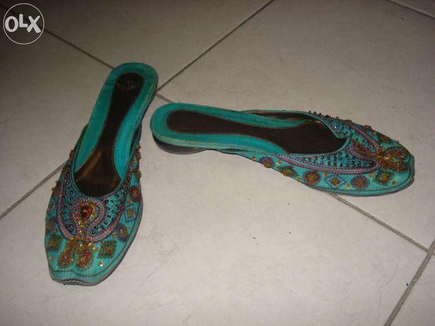 Sandalias abertas marroquinas