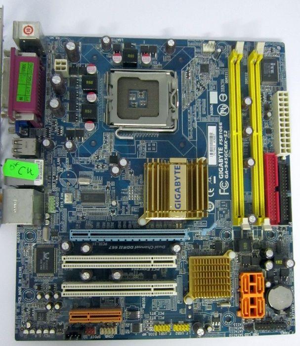 Акция! LGA775 Материнские платы ddr2/ddr3 Процессор CoreDuo в подарок