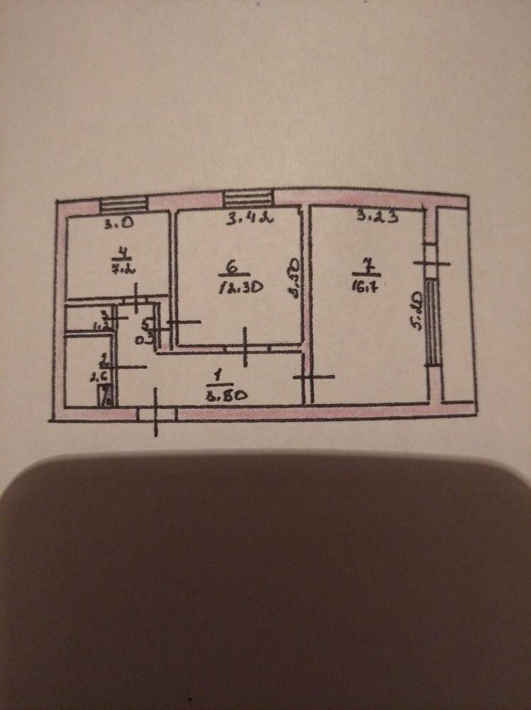 Продажа 2-х комнатной квартиры с гаражом
