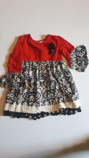 Sukienka na 3 lata dla dziewczynki