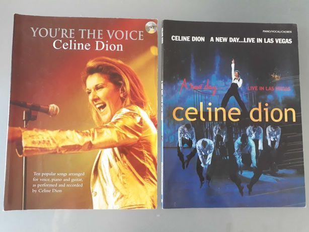 Celine Dion (partituras pra piano, voz, guitarra e coro).