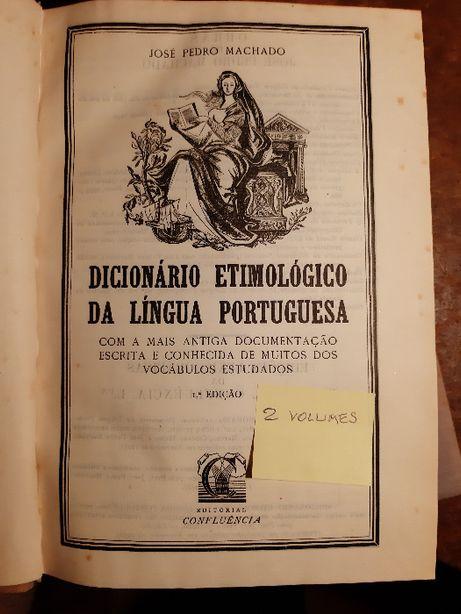 Vendo Dicionário Etimológico da Língua Portuguesa (2 Volumes)
