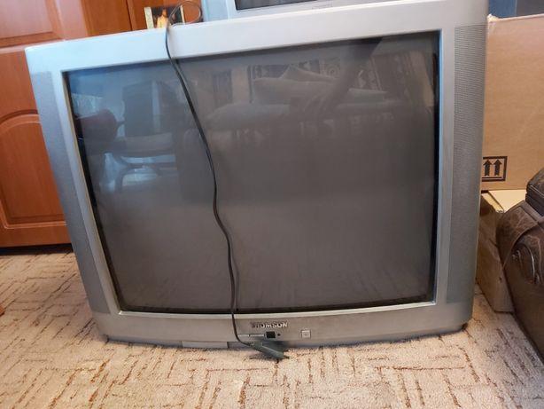 Dwa telewizory za czekoladę