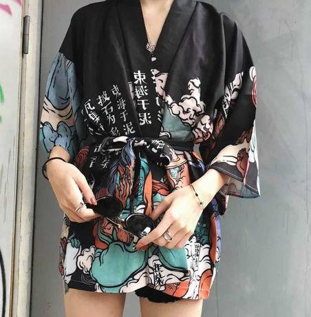 Japońskie kimono nowe anime rozm uniwersalny