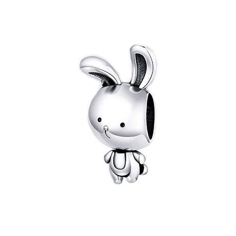 Charms zawieszka króliczek srebro 925 do Pandora