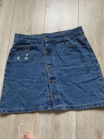 Юбка джинсовая , женская юбка