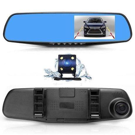 """Продам зеркало видеорегистратор 1433 (FHD, монитор - 4,3"""") - 2 камеры"""
