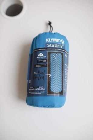 Коврик Klymit Static V надувной туристический каремат