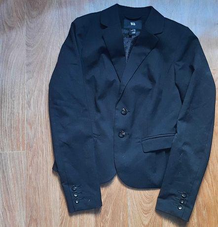 Пиджак черный H&M на девочку