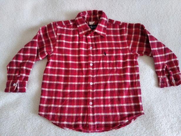 Рубашка на мальчика рост 116-122 см.