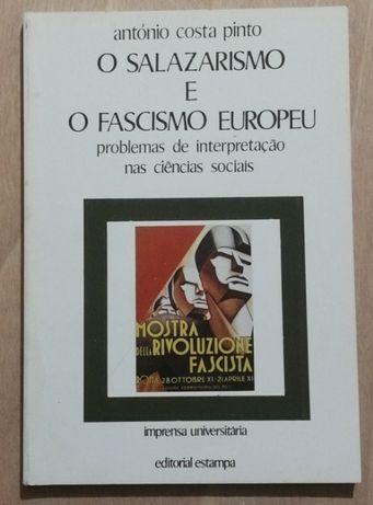 o salazarismo e o fascismo europeu, antónio costa pinto, estampa