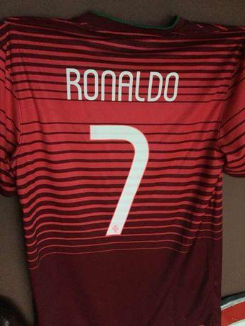 Camisola autografada oficial Portugal Ronaldo autografada por ele