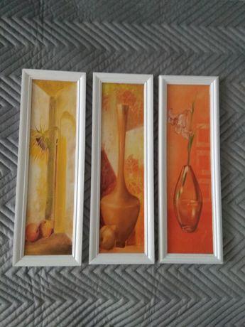 Obrazki 3 sztuki.