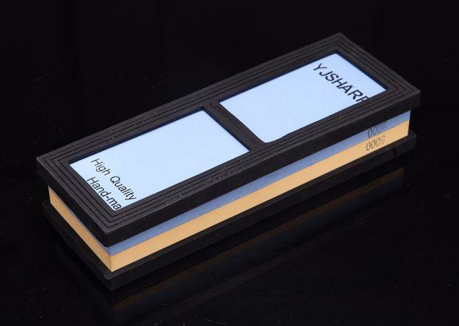 Точильный двухсторонний водный камень (2000/5000grit),точилка для ноже